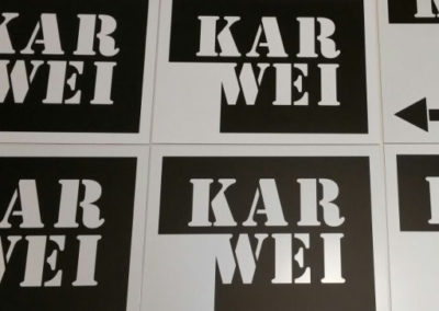 Bewegwijzering borden Karwei