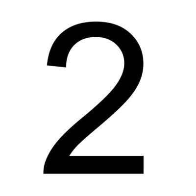 Twee - cijfer