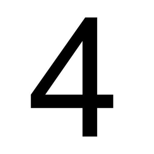 Vier - cijfer