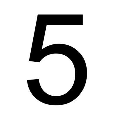 Vijf - cijfer