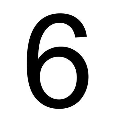 Zes - cijfer