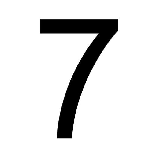 Zeven - cijfer