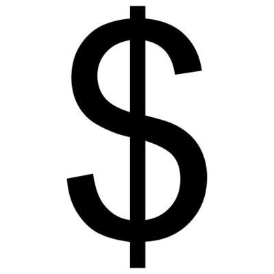 Dollarteken - leesteken