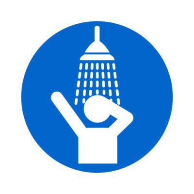 Douchen Verplicht - gebodssticker