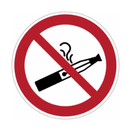 Verboden te Roken E Sigaret - verbodssticker