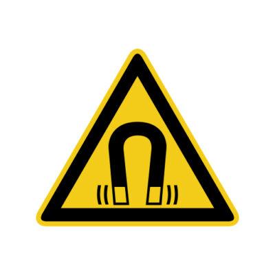 Magnetisch Veld - waarschuwingssticker