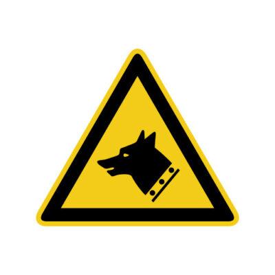 Waakhond - waarschuwingssticker
