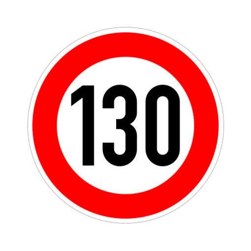 Maximum Snelheid 130 Km Per Uur