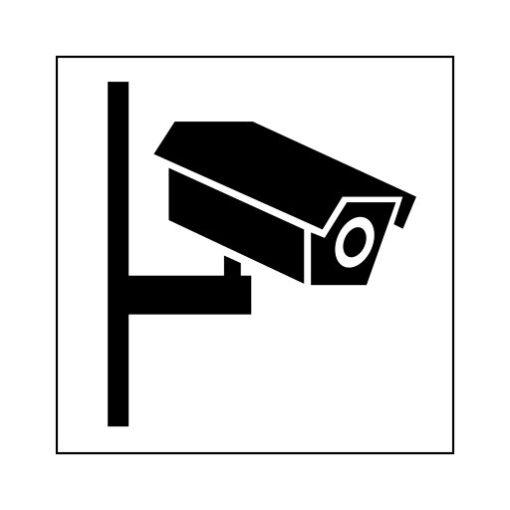 Camera Bewaking - buurtpreventiesticker