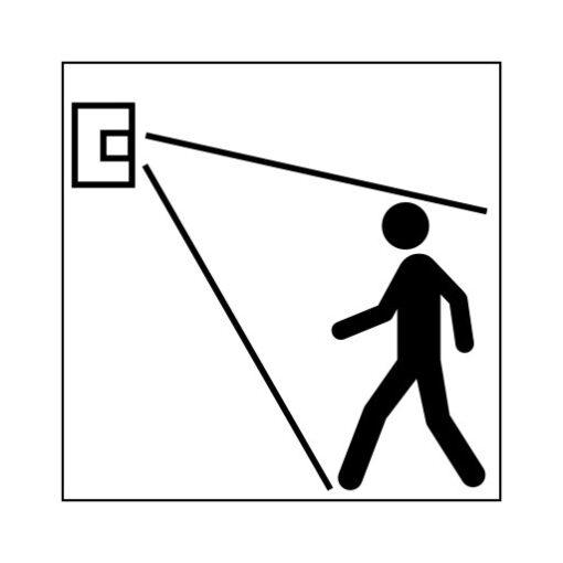 Sensor beveiliging - buurtpreventiesticker