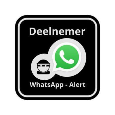 WhatsApp Deelnemer man - buurtpreventie