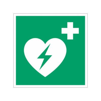 Ehbo AED Aanwezig - wegwijzersticker