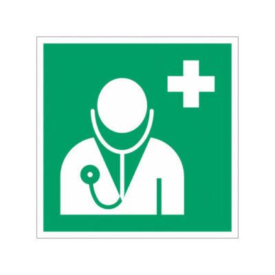Ehbo Doktersruimte - wegwijzersticker