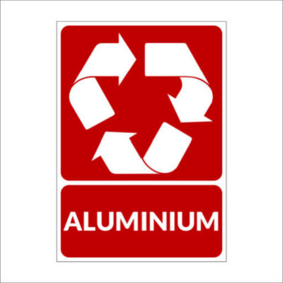 Aluminium - recyclesticker