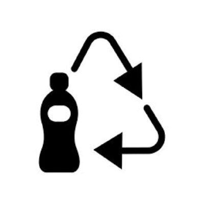 Flessen versie 1 - recyclesticker