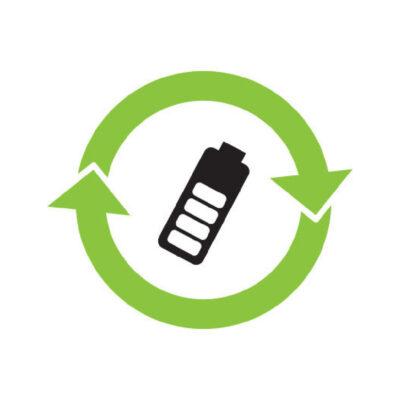 Mobiele Telefoons - recyclesticker