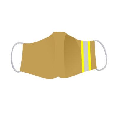 Mondkapje Brandweer in de stijl van de uitrukkleding